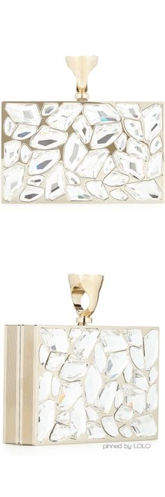 Tom Ford Crystal Brass Ring Clutch | LOLO Beautiful Bags, Swagg, Evening Bags, Tom Ford, Fashion Bags, Me Too Shoes, Crossbody Bag, Clutch Bags, Purses And Bags