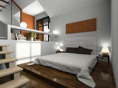 Idea per arredare la camera da letto in stile moderno n.18