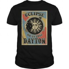 I Love  Tennessee Dayton Solar Eclipse 2017 Shirt T shirts