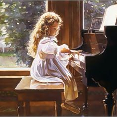 Print By Steve Hanks=Steve Hanks is first and foremost a figure painter. His watercolor paintings are infused with emotion and a kind of poetry formed by light and shadow in his compositions