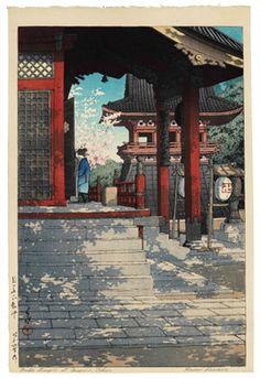 KAWASE HASUI (1883-1957) and KASAMATSU SHIRO (1898-1991)