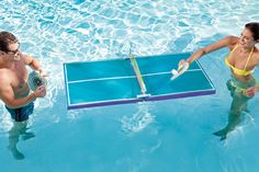 Floating Pool Pong Table | 22 Ridiculously Awesome Floats