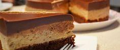 Kafíčkový dort s ořechovým těstem Fun Cooking, Cooking Recipes, Torte Cake, Czech Recipes, English Food, Sweet And Salty, Desert Recipes, No Bake Desserts, Cake Cookies