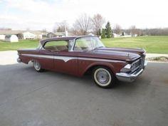 1959 Edsel Ranger Hard top for sale (IN) - $8,000 Call Charlie @ 260-223-1105