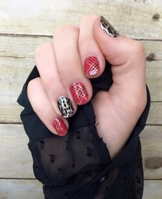 Such a pretty combo for Christmas!   Tinsel Town http://torpal.jamberrynails.net/product/tinsel-town  Gilded Leopard http://torpal.jamberrynails.net/product/gilded-leopard