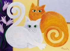 DIVA's Cats. Reproduction of original Vardit Dafni's by VARDOOL