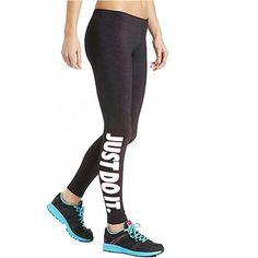 New Women Capri YOGA Sport Pants High Waist Cropped Leggings Fitness Trouser