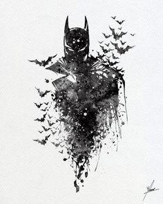 Batman Wallpaper, Dark Knight Wallpaper, Comic Tattoo, Batman Tattoo, Marvel Tattoos, Batman Wall Art, Batman Artwork, Batman Kunst, Personnage Dc Comics