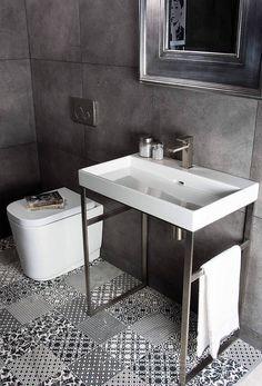 NEW YEAR - NEW BATHROOM?!! #bathroomdesign #bathroominspo #washstand #tastytiles #tecaztrends