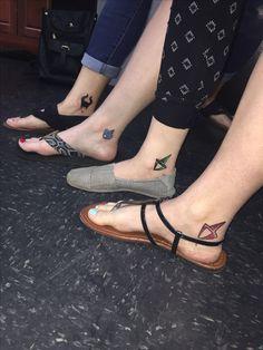 Sleeping Beauty Fairies Tattoo, Maleficent Tattoo, Sisters Tattoo, Flora, Fauna & Merryweather. By Matt Cardenas, Lubbock Tx