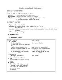Detailed Lesson Plan in Mathematics I I. LEARNING OBJECTIVES: At the end of the lesson the pupils should be able to: Cognitive : Separate group of objects into… Grade 1 Lesson Plan, Daily Lesson Plan, Science Lesson Plans, Teacher Lesson Plans, Kindergarten Lesson Plans, Lesson Plan Examples, Lesson Plan Templates, Lesson Plan In Filipino, Math Lessons