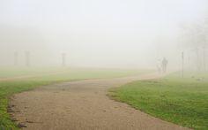 Walking in mist