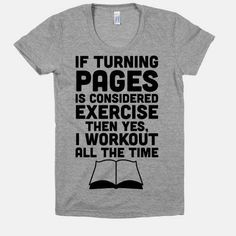 The library is my gym