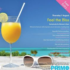 AfroDeity will be at the Primo Bar on August 2014 Health And Wellbeing, London Fashion, Aloe Vera, Fashion Brand, Alcoholic Drinks, Events, Bar, Beautiful, Fashion Branding