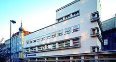 Gliwice, ul. Zwycięstwa 37 ; Dom tekstylny Weichmanna; Erich Mendelsohn was a German architect, known for his expressionist architecture in the 1920s, as well as for developing a dynamic functionalism in his projects for department stores and cinemas.
