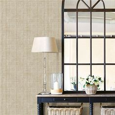 NU2094 - Ramie Linen Peel and Stick Wallpaper - by NuWallpaper