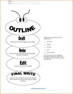 Persuasive Essay Outline Template Essay Outline Writing