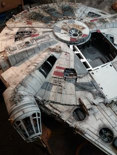 Star Wars Ships, Star Wars Art, Star Trek, Model Car, Model Kits, Cuadros Star Wars, Millennium Falcon Model, Nave Star Wars, Star Wars Spaceships