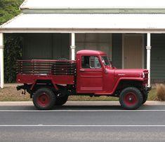 Mark Dawson 1963 Willys Truck 3