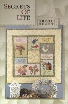 Art to Heart Single Patterns at Patchwork & Paint