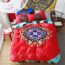 Fresh arriving Winter Flannel bed linens Wedding gift from China fleece bedding set Bohemia bedclothes flower duvet cover+flat sheet+pillowcase now available US $161.45 with free delivery  you can purchase this kind of item not to mention even more at our website      Have it now on this site >> http://bohogipsy.store/products/winter-flannel-bed-linens-wedding-gift-from-china-fleece-bedding-set-bohemia-bedclothes-flower-duvet-coverflat-sheetpillowcase/,  #Boho