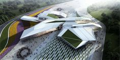 Houston Library and Exhibition Center project is one of dynamic architectural…