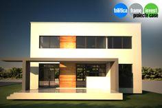 Proiect de casă cu arhitectură modernă 04 Mansions, Case, House Styles, Home Decor, Decoration Home, Manor Houses, Room Decor, Villas, Mansion