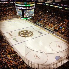 TD Garden, home of the Bruins!
