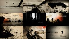 The Pacific (+ Steve Fuller & Ahmet Ahmet interviews) opening title sequence | Art of the Title