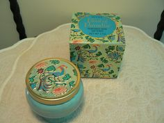 Vintage - Avon Vanity Jar - Bird of Paradise Perfumed Skin Softener - Oh, I loved this fragrance in the late 1960s