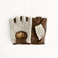 Crochet Cycling Gloves