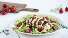 Pripravte sa na letnú sezónu výdatným šalátom s pečeným kuraťom. Cobb Salad, Meat, Chicken, Food, Beef, Meal, Essen, Hoods, Meals