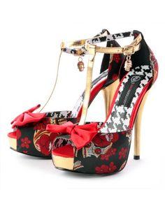 Amazon.com: Iron Fist Death Dance Platform Heel: Shoes