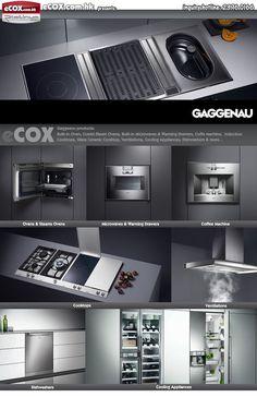 Gaggenau BS 220/221/224/225, Gaggenau 22, Gaggenau BM 27,Gaggenau CM ...  #appliances #gaggenau #kitchen Pinned by www.modlar.com: