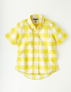 Washed Summer Shirt #boden #colourmehappy #yellow