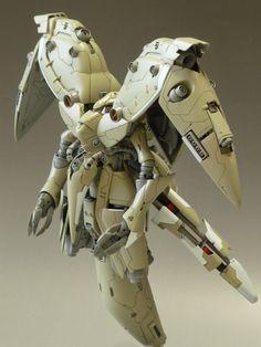 HG Mechanics 1/550 : Neue Ziel Custom Build - Gundam Kits Collection News and Reviews