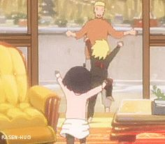 Naruto and his kids.....ultimate prankster's all grown up -wipes away a tear-