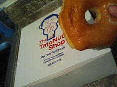 The BEST Donut in the entire world. Tatonut- Ocean Springs, Mississippi.  Worth a trip to the Gulf Coast anytime.