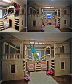 10 Cool DIY Bunk Bed Ideas for Kids 7