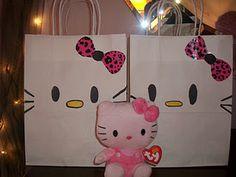 DYI Hello Kitty Goodie Bags