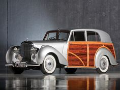 1950 Bentley Mark VI Radford Countryman***Research for possible future project. this is some woodie!