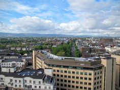 A nice view over Dublin: Taken from the rooftop of Google European HQ.
