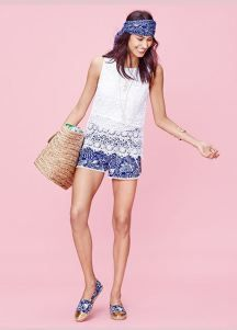Loving all the blue in the Lilly for Target line!