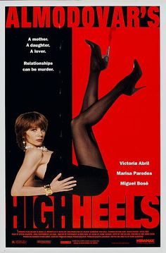 Poster for the movie 'High Heels' 1991