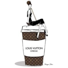 'LV Espresso' by @meganhess_official| Be Inspirational ❥|Mz. Manerz: Being well dressed is a beautiful form of confidence, happiness & politeness