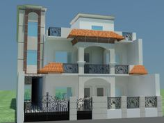 Image Result For Indian House Design Front View Harish Pinterest