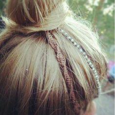Hairwraps for dayzzz. Hairwraps for dayzzz. Dread Hairstyles, Braided Hairstyles, Hello Hair, Hippie Hair, Dreadlocks, Festival Hair, Hair Beads, Bad Hair, Hair Dos