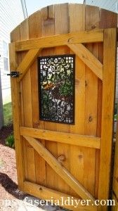 How a Girl Built a Gate.This is a great site for learning to DIY!  Easy instructions.  Beautiful projects.