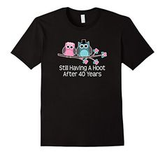 40th Wedding Anniversary Gifts Shirt Owl Couple T-shirt - Male Small - Black Homewise Shopper http://www.amazon.com/dp/B01BDUSR3W/ref=cm_sw_r_pi_dp_uO57wb11M49NW