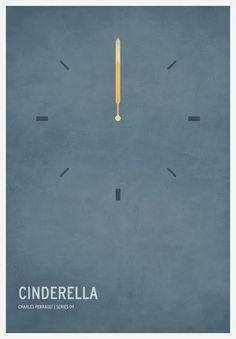 nice minimal fairytale posters.
